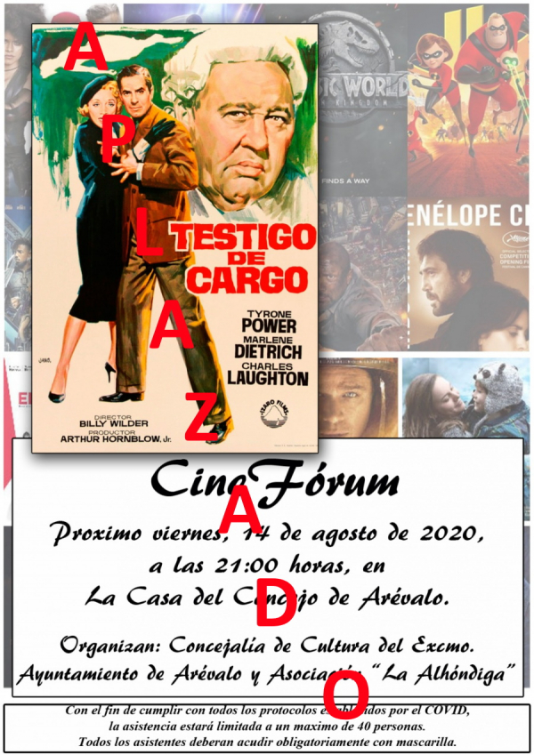 Cineforum - APLAZADO